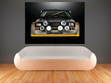 A0 AUDI SPORT QUATTTRO S1 RALLY  IMAGE LARGE  IMAGE  GIANT POSTER PRINT ART