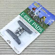 Kool Stop Supra 2  V-Brake Bremsschuh für E-Bike - grau - für Alu Felge