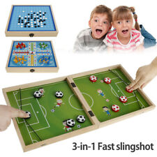 3in1 Large Sling Puck Board Games Paced Foosball Winner Family Puzzle Juego Toys