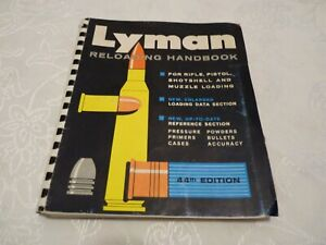 LYMAN RELOADING HANDBOOK 44TH EDITION