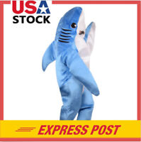 Child Animal Shark Suit Costume Halloween Funny Mascot Party Cosplay Fancy Dress