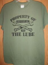 the Lube Clearwater FL green M t shirt