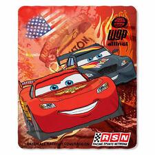 "New Disney's Cars Racing Legend Fleece Throw Blanket 100% Polyester 46""X60"" Soft"