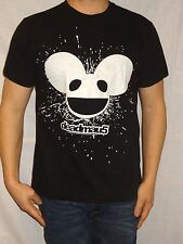 Deadmau5 Black Cotton Short Sleeve Tultex Tee Size Men's M Jr XL Dubstep
