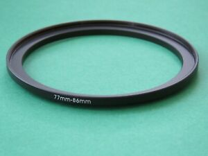 77mm-86mm Stepping Step Up Male-Female Filter Ring Adapter 77mm-86mm