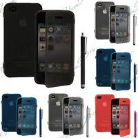 Accessoire Etui Housse Coque Portefeuille Livre Silicone Gel Apple iPhone 4 4S