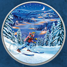 Kanada - Great Canadian Outdoors - Night Skiing - 15$ 2017 PP - Silber - Glow