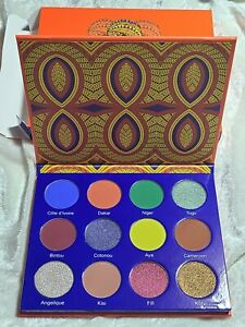 Juvia's Place Afrique 12 pan Eyeshadow Pigment Palette NEW