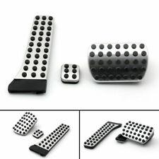 3PCS Foot Brake Pedal Pads Covers For Benz C E S GLK SLK CLS SL Class Sport USA