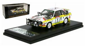 Trofeu SC23 Audi Sport Quattro #1 Cote d'Ivoire 1984 - Stig Blomqvist 1/43 Scale