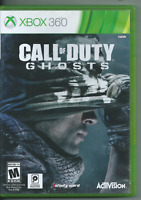 🔥🔥🔥 Call of Duty: Ghosts (Microsoft Xbox 360, 2013) (No Manual) 🍀🍀🍀