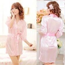 Hot Sexy Women Erotic Lingerie Satin Robe Underwear Woman/Lady Clothing Sex Toys