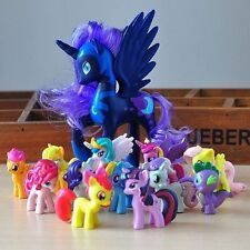 12Pcs/Set 5CM Lot of My LittleHorse funny Cake Toppers Doll Action Figure Toy