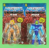 MASTERS OF THE UNIVERSE ORIGINS (MOTU) HE-MAN & SKELETOR UNPUNCHED ULTRA HOT! 🔥