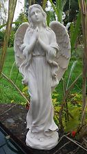 Engel weiss stehend - MystiCalls - GD-133 - Gartenfigur Skupltur Deko Himmel