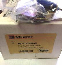 Cutler Hammer 2A10899G01 Fixed Breaker Secondary Disconnect Block Kit Magnum DS