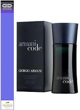 GIORGIO ARMANI CODE HOMME EDT 50 ML VAPO profumo uomo - man - homme