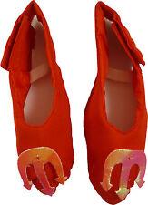 Red Devil Kostüme für Kinder Überschuhe - 21cm von vorne nach hinten (HW195)
