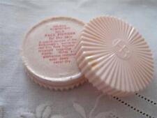 Vintage Helena Rubinstien Face Powder 1950s Ladies Unused Silk Lucite Pot Box