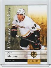 PATRICK PAT MAROON 11/12 UD ULTIMATE COLLECTION #61 SP RC /399 BIG RIG, BOLTS