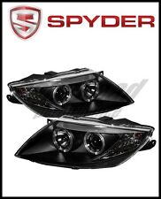 Spyder BMW Z4 03-08 Projector Headlights Xenon/HID Model Only - LED Halo Black