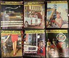 Quattroruote 1962 numeri sparsi
