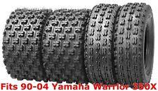 4 WANDA Sport ATV tires 22x7-10 & 22x10-9 90-04 Yamaha Warrior 350X GNCC Race