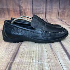 Cole Haan Slip On Loafers Men Size 10.5 Leather Loafers - Black