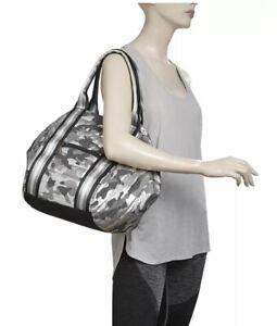 Think Royln Bowling Metallic Silver Shiny Camo Bag ~NWT