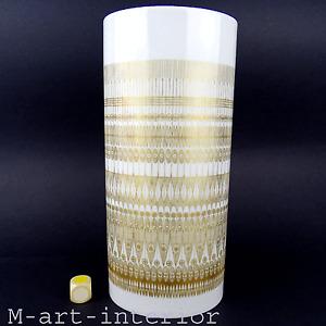 Lovely 1960s Porcelain Vase Gold Decor by T. Baumann for Rosenthal studio-linie