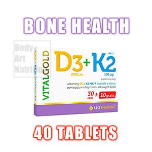 VITALgold D3 + K2   40 tablets BONE and TEETH health vitamin