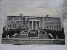 MADISON WI University of Wisconsin College of Agriculture early 1900's  Postcard
