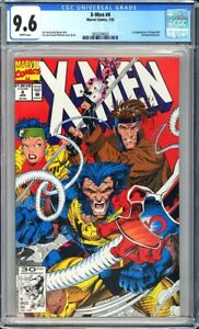 X-Men #4 CGC 9.6 1st appearance of Omega Red (Arkady Rossovich) KEY ISSUE!L@@K!
