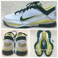 Nike Oregon DUCKS Air Elite Pre-Game US Size 12.5  M White Green Yellow