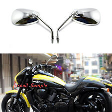 10MM Motorcycle Rearview Side Mirrors For Honda Shadow Aero 750 / ACE 750 VT750C