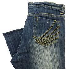 AKADEMIKS Jeans Womens 32 X 28 STRAIGHT LEG Hip Hop Pants AKDMKS