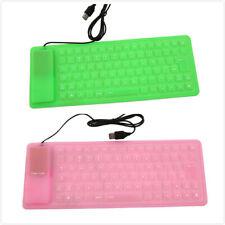 Keyboards Dust Proof Keypad USB Mini Flexible Silicone For PC Laptop Keyboard KS