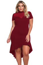 Abito Svasato Party Taglie forti Grandi Curvy Formosa Plus Size Lace Dress XXL
