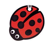 Bright Star Kids Ladybug Backpack Tag for School - Childrens Bag / Luggage