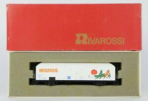RIVAROSSI 2106 FS INTERFRIGO REFRIGERATED MIGROS WAGON APPEARS UNRUN MINT
