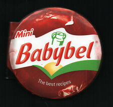 Mini Babybel Cookbook Recipes in cute round little book like the cheese - new