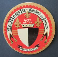 Etiquette fromage LE MESSIN  Touraine French cheese label 23