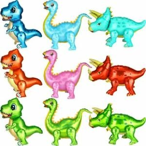 Dinosaur 3D Aluminum Foil Balloon for Kids Birthday Party Decoration UK STOCK