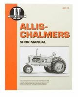 SHOP MANUAL Allis Chalmers B C CA G RC WC WD WD45 WF Tractor
