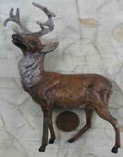 Vintage 1930's Cast Lead Germany Reindeer 5� Nice #12