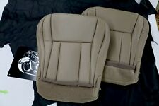1996-2002 Toyota 4Runner Front Seat Bottoms Upholstery Oak Tan M M Leather