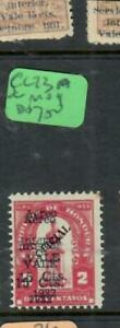 HONDURAS  (P2407B)   A/M LIKE  SC C 73 A  DOUBLE OVPT BUT IS A TACA ISSUE  MOG