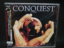 CONQUEST Worlds Apart + 1 JAPAN CD Stratovarius Timo Tolkki Amberian Dawn U.D.O.
