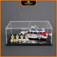 Display stand and case for LEGO Ideas: Ghostbusters Ecto-1 (21108)