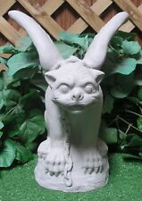 Small Wings Out Medieval Gothic Gargoyle Sentry Latex Fiberglass Mold Concrete